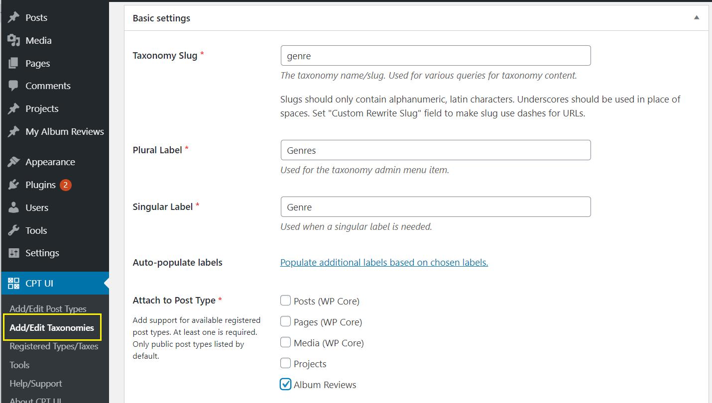 如何创建WordPress自定义帖子类型6如何创建WordPress自定义帖子类型