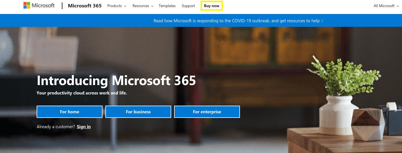 Microsoft 365网站-另一个创建企业电子邮件地址的好地方