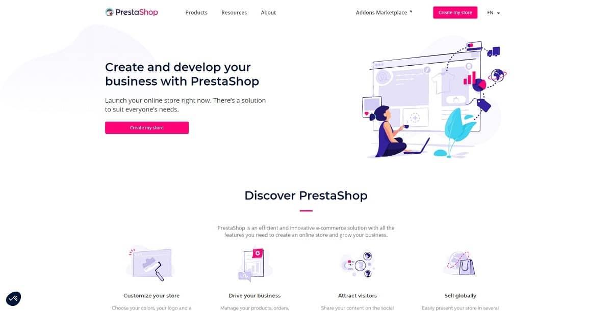 prestashop-shopify替代品