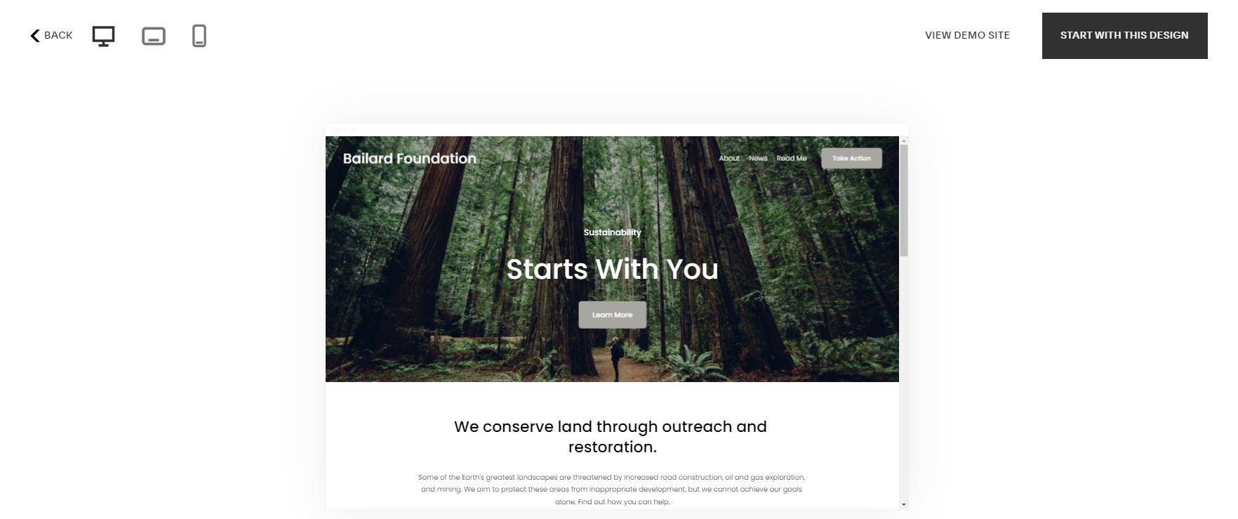 如何使用Squarespace创建小型企业网站,首先要选择模板。