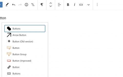 WordPress插件作者在命名块时应避免混淆用户