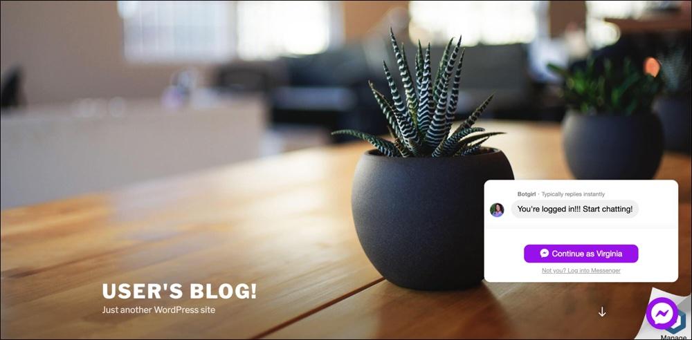 WP-Chatbot通过MobileMonkey Widget