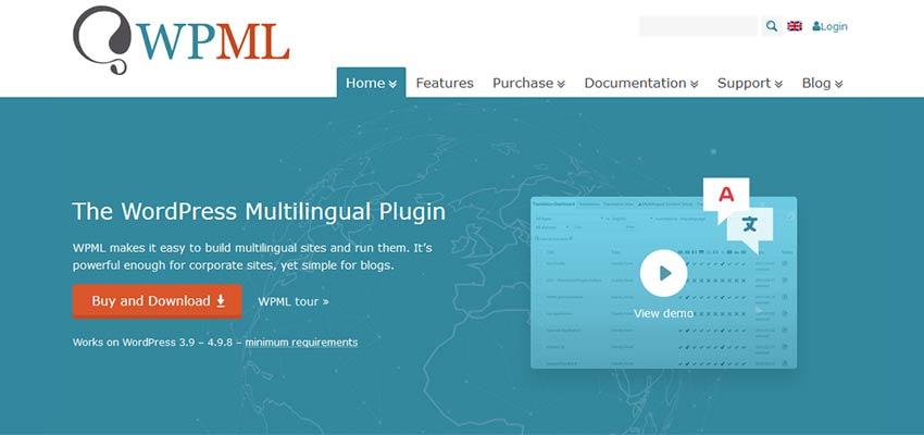 WPML WordPress插件