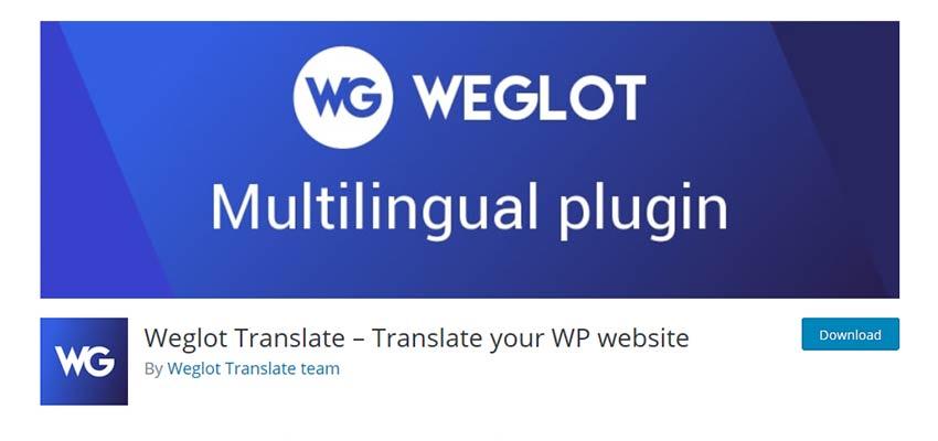 Weglot翻译WordPress插件