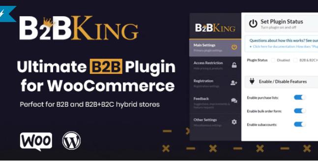 B2BKing-终极WooCommerce B2B和批发插件