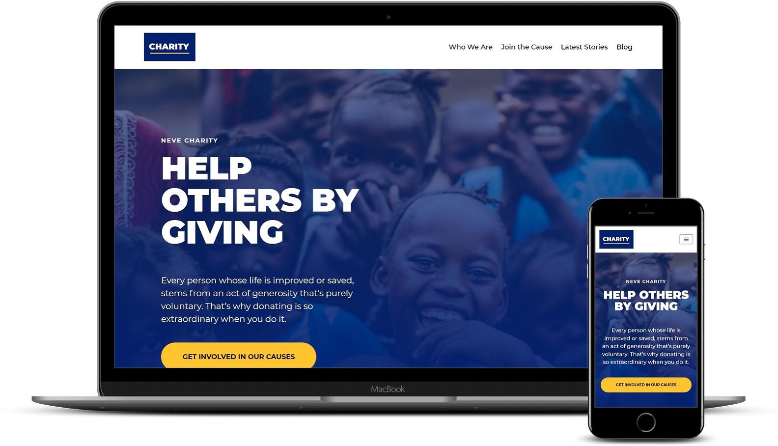 WordPress慈善模板