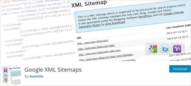Google XML网站地图