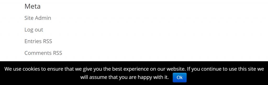 如何在wordpress中添加简单的cookie遵从性选择如何向WordPress添加简单的cookie遵从性选择