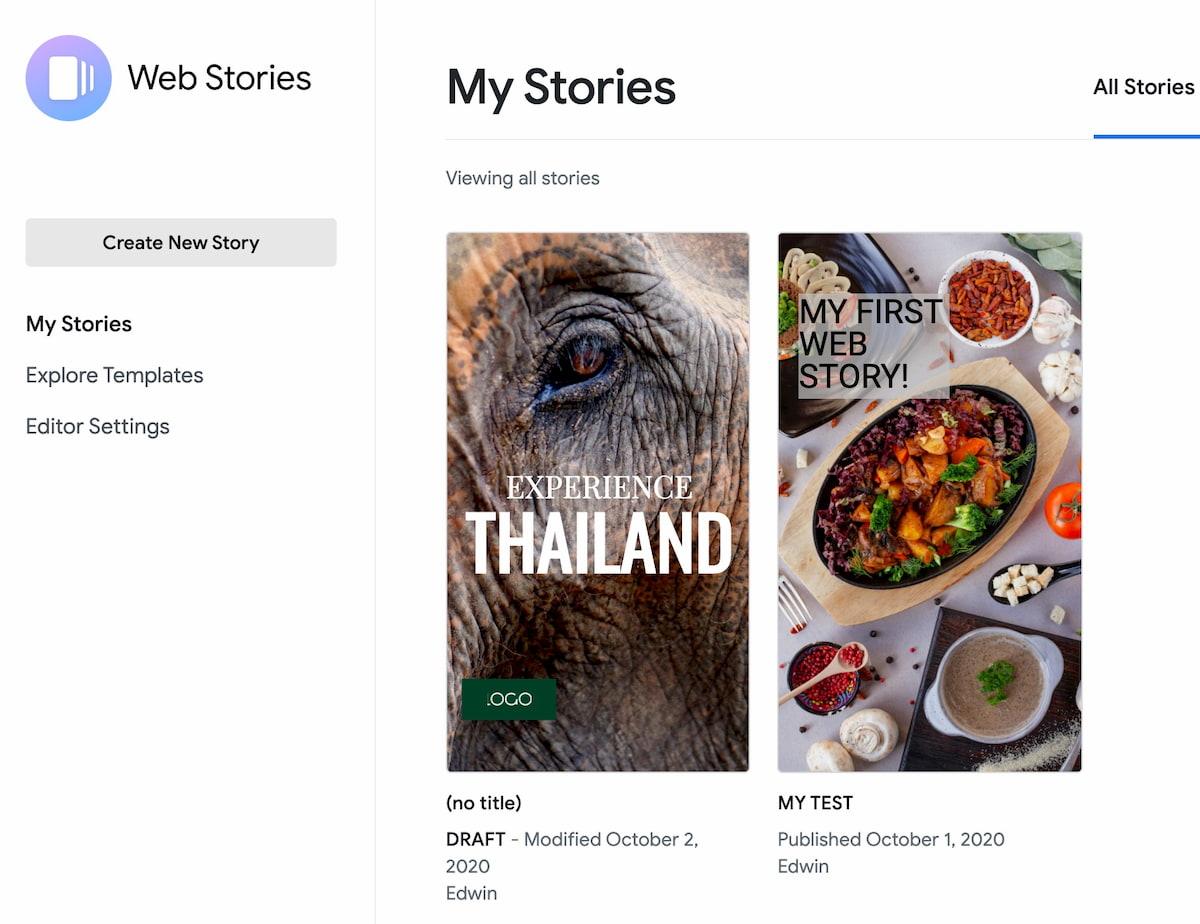 如何在WordPress中建立Google Web故事4如何在WordPress中建立Google Web故事