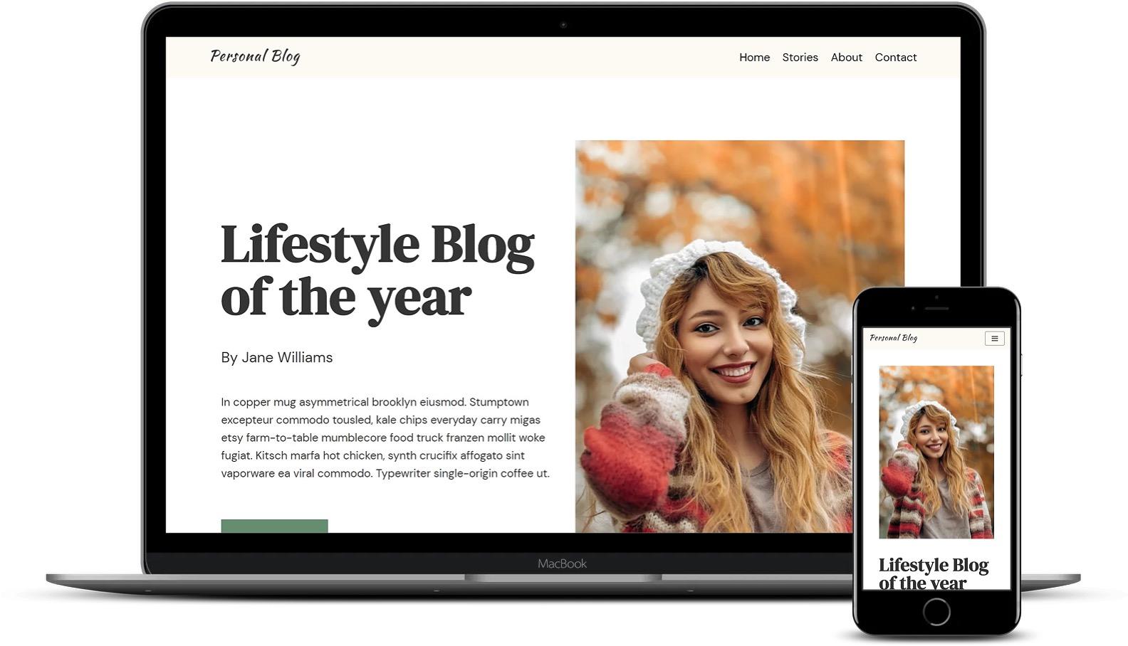 个人博客WordPress模板