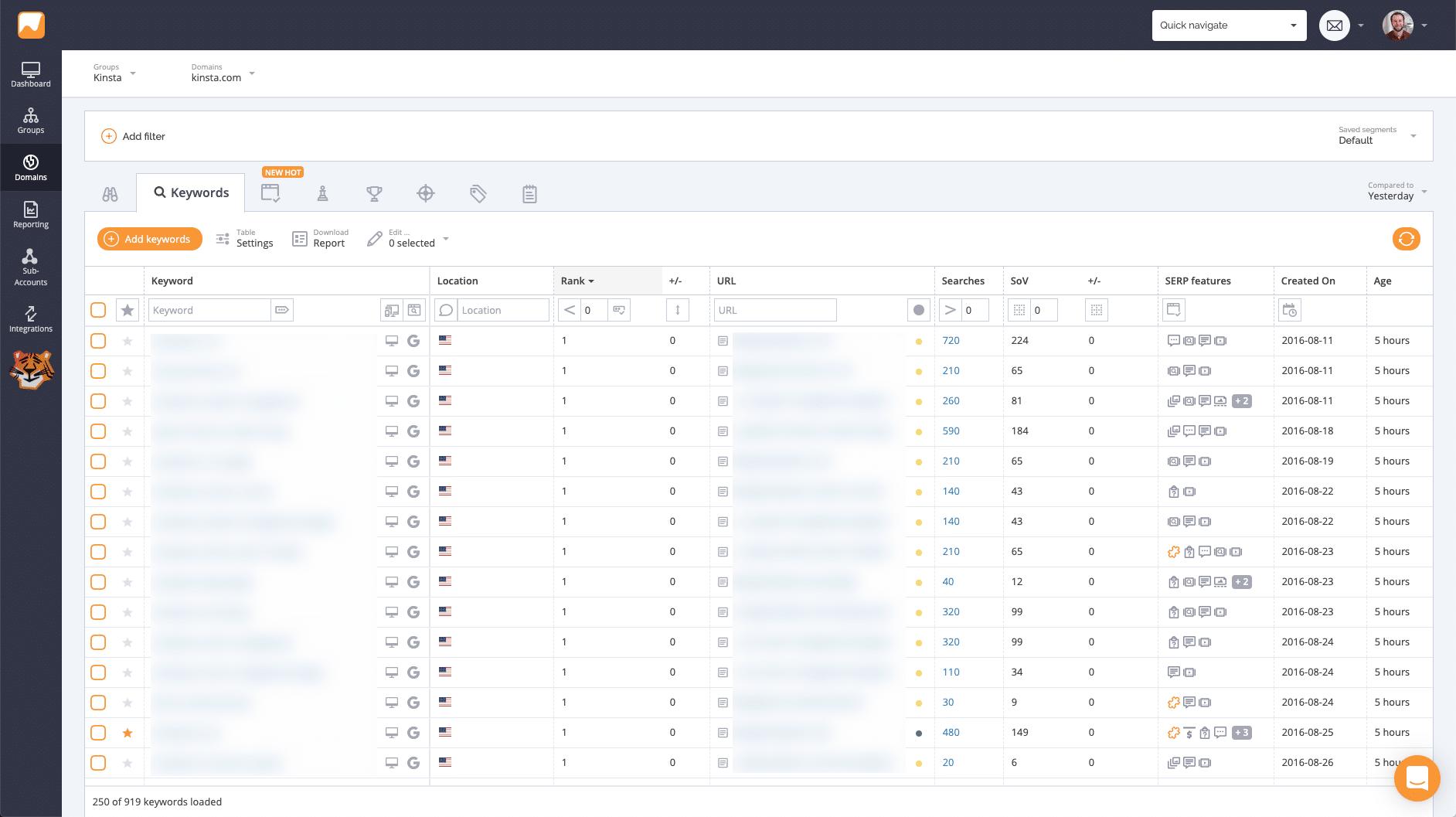 tracking-keywords-seo