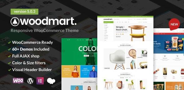 WoodMart v5.3.5 – WordPress在线商店模板