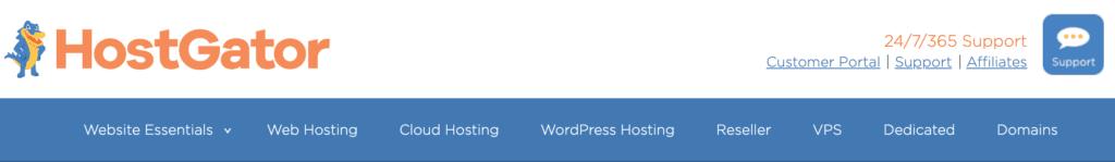 hostgator博客标题