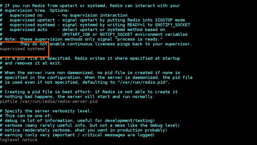 编辑Redis服务器配置文件