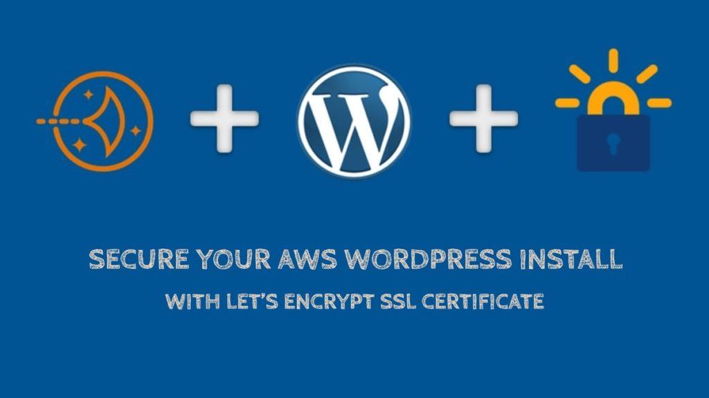 在AWS LightSail WordPress安装上启用让我们加密SSL证书