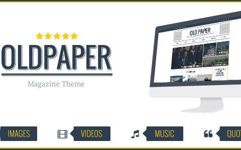 OldPaper v1.7.0 – Ultimate Magazine&Blog Theme