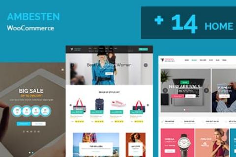 Ambesten v1.9 – Themefusion多用途MarketPlace RTL WooCommerce WordPress主题