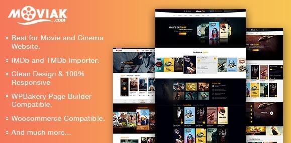 AmyMovie v3.5.0-电影和电影WordPress主题