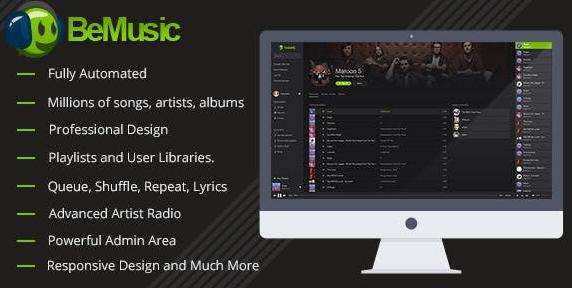 BeMusic v2.4.8-音乐流引擎PHP脚本