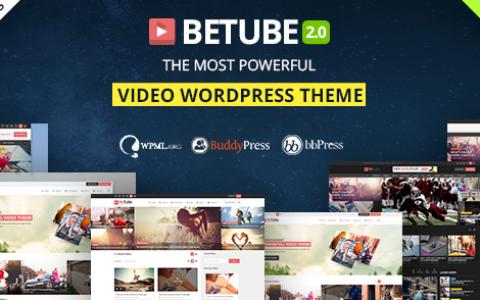Betube Video WordPress主题v3.0.3