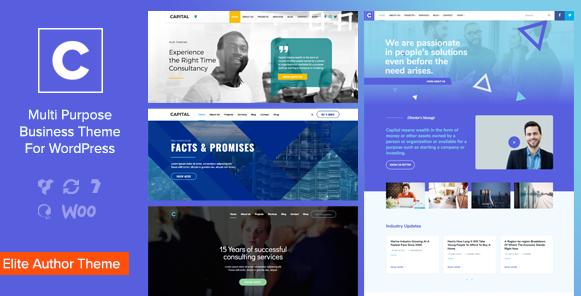 Capital v2.0-多用途业务WordPress主题