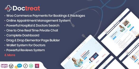 Doctreat v1.1.3-Doctors Directory WordPress Theme