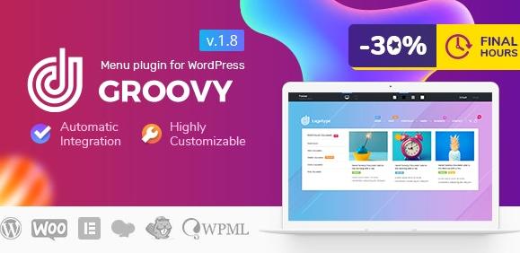 Groovy Mega Menu v2.3.9-WordPress的响应式Mega Menu插件为空