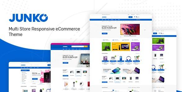 Junko v1.0.9-WooCommerce WordPress的技术主题