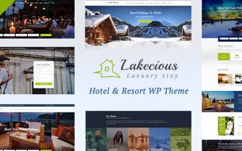 Lakecious v3.0 –度假村和酒店WordPress主题