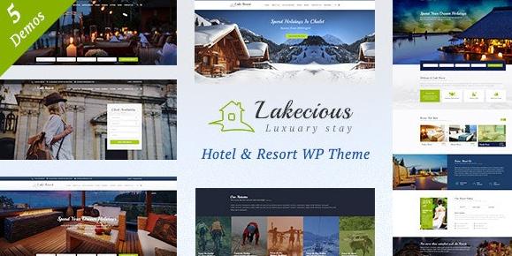 Lakecious v3.0-度假村和酒店WordPress主题