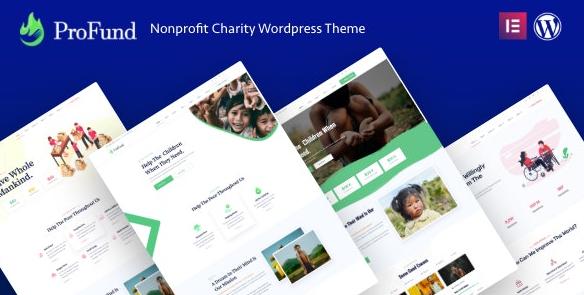 ProFund v3.1.0-非营利慈善WordPress主题