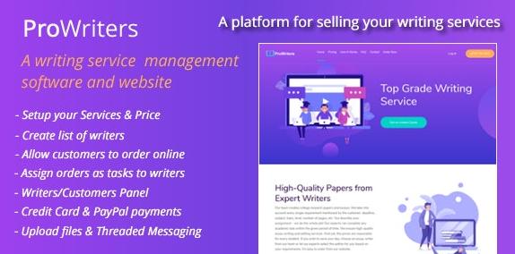 ProWriters v1.0-在线销售写作服务