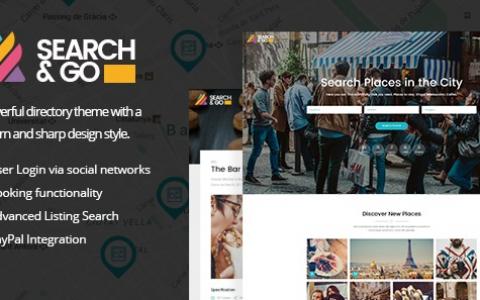 Search&Go v2.5 –现代与智能目录主题