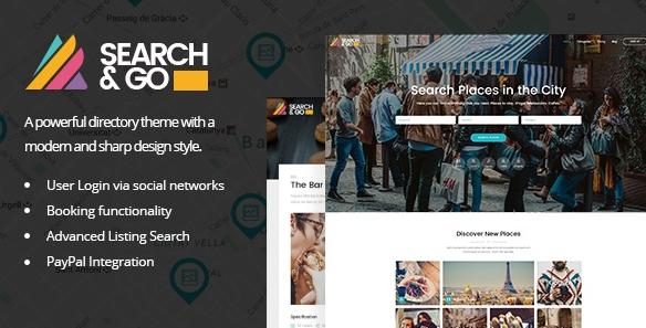 Search&Go v2.5-现代与智能目录主题