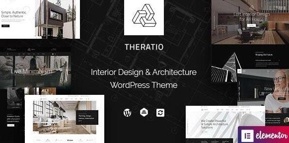 Theratio v1.1.3.2-Elementor的建筑与室内设计主题