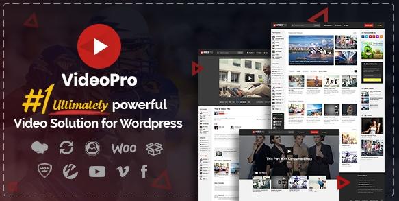 VideoPro v2.3.7.1-视频WordPress主题
