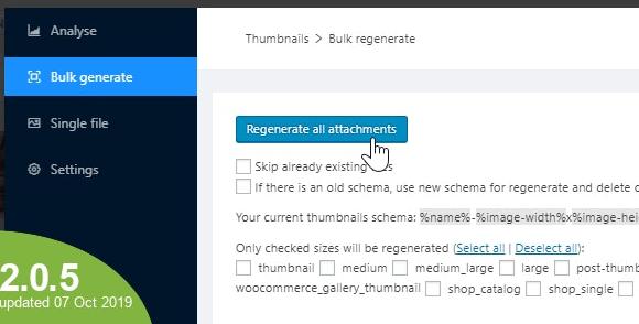 WordPress Real Thumbnail Generator v2.4.1