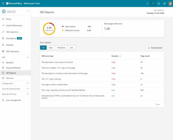 Microsoft-bing-webmaster-tools-8简介Microsoft Bing网站管理员工具简介