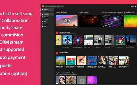 MusicEngine v2.0.8 –音乐社交网络