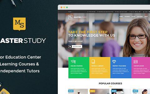 教育WordPress主题– Masterstudy v4.2.7
