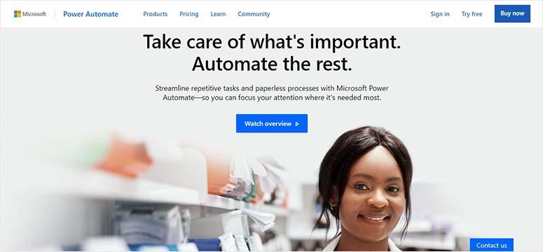 Microsoft Flow-工作流自动化服务