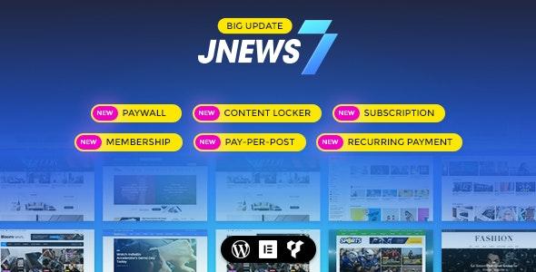 JNews v7.1.6 – WordPress新闻模板