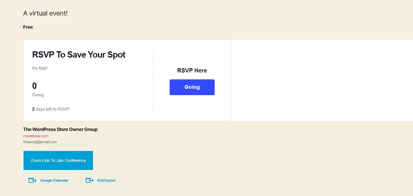 rsvp前端-如何举办虚拟活动
