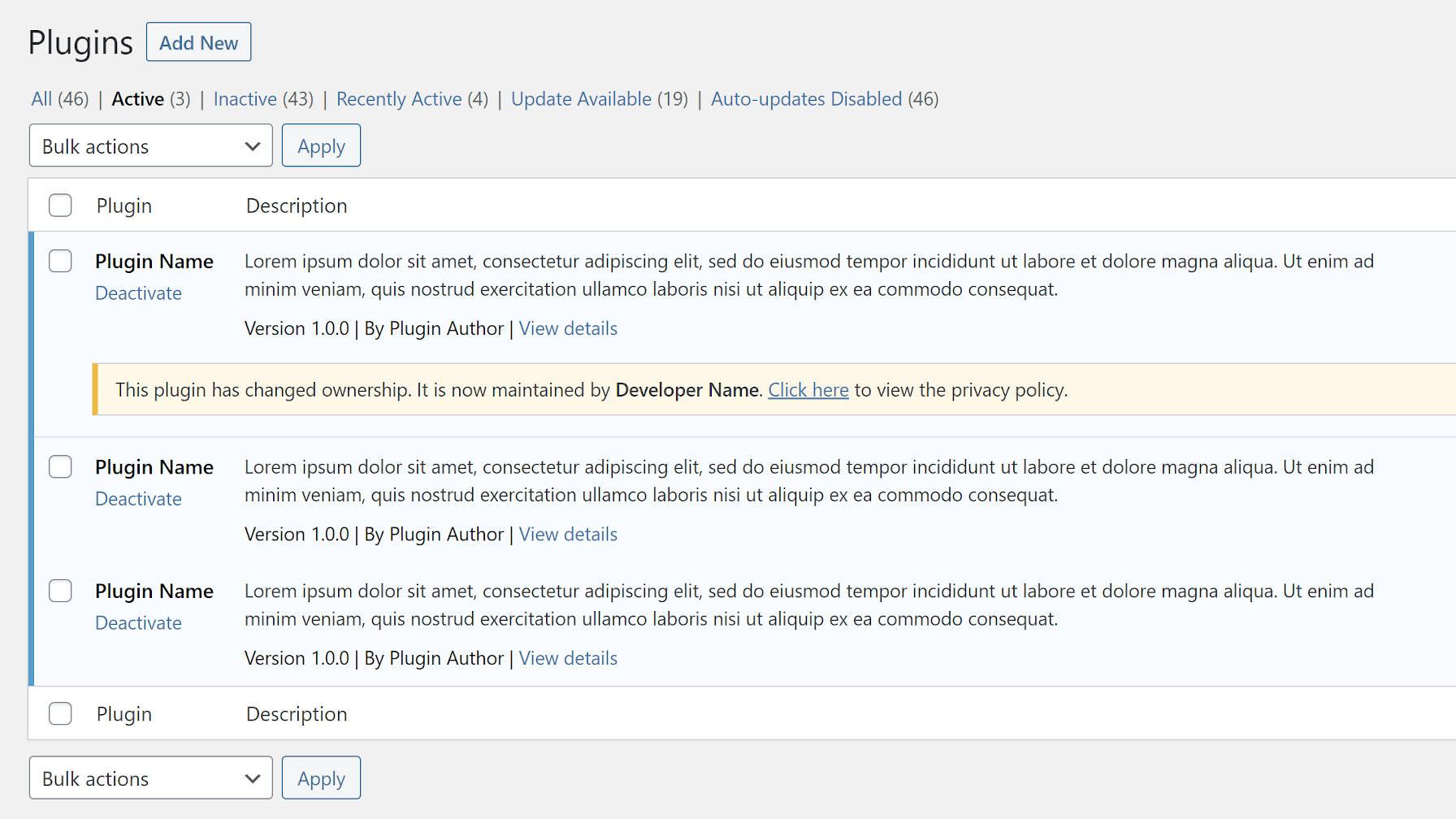 应该WordPress通知用户插件所有权更改吗WordPress应该通知用户插件所有权更改吗?