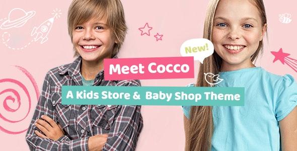 Cocco v1.5.1 –儿童商店和婴儿用品店主题