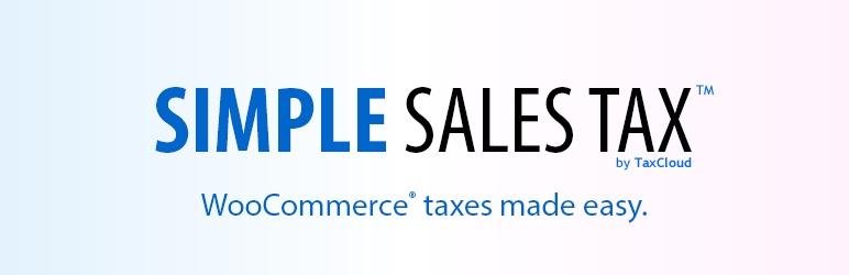 WooCommerce简单营业税