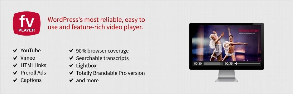 FV Flowplayer视频播放器