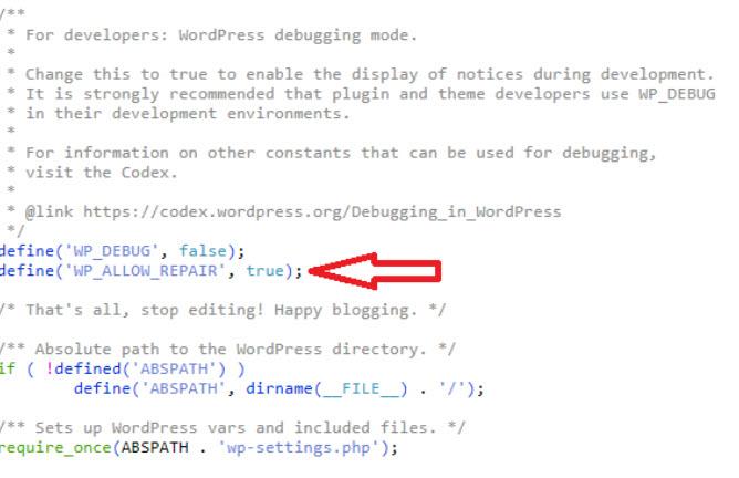 WordPress修复