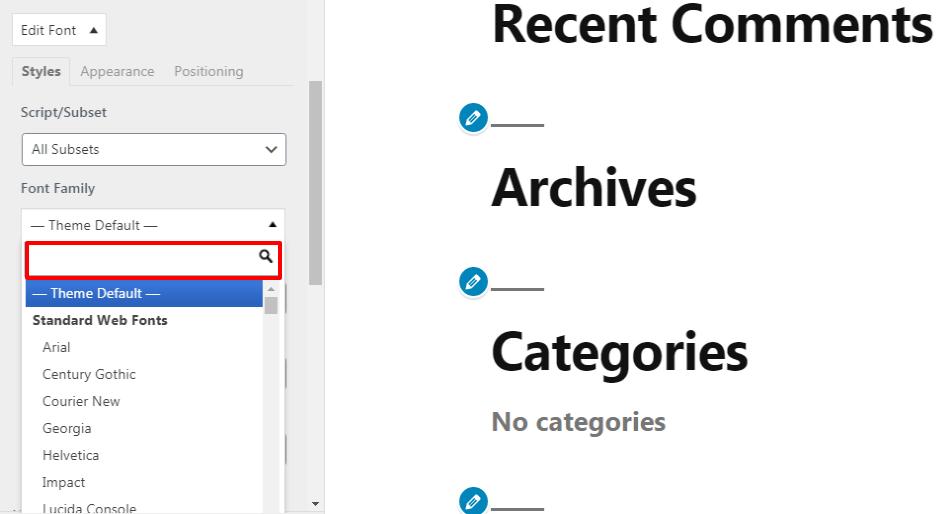 如何在WordPress中添加自定义字体?
