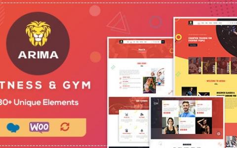 Arima v1.6 –体育馆,拳击WordPress主题